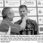 Matthias beim Interview